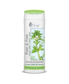 Pure & Free - śmietanka do demakijażu 250ml